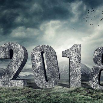 Le chiffre 18 de l'année 2018 révèle ses effets sous les réflecteurs des vies passées/antérieures