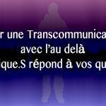 Eveil Tv - Transcommunication tutoriel