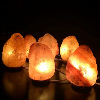 Les vertus des lampes de sel