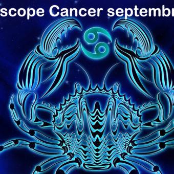 Prévisions & Horoscope Cancer ♋ septembre 2021